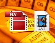 Конвертировать FLV в AVI