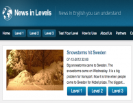 Изучаем разговорный английский вместе с News in Levels