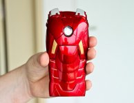 Корпус Iron Man Mark VII для iPhone 5