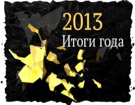 Успехи и неудачи 2013 года