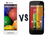Motorola Moto E против Motorola Moto G. В чем разница?