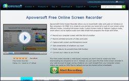 Сервис Online Screen Recorder. Веб-инструмент для записи экранного видео