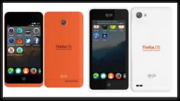 Keon и Peak – первые смартфоны на Firefox OS
