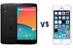 Google Nexus 5 против iPhone 5S: в чем разница?