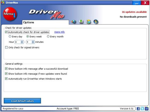DriverMax бесплатная программа обновления драйверов