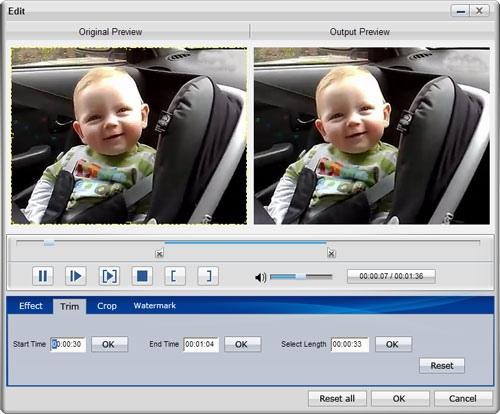 Программу для форматировать видео