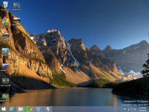 Темы для рабочего стола windows 8.1