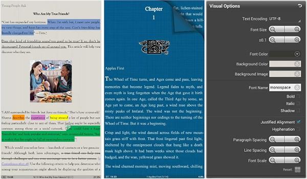 Какой Выбрать Читалку Для Андроид