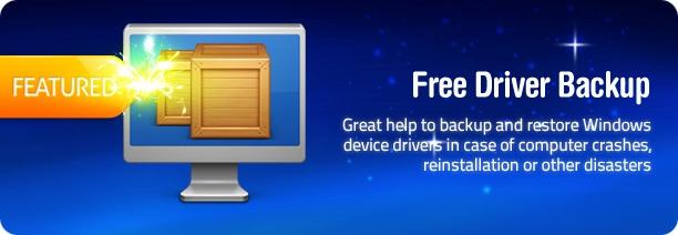 Free Driver Backup – простейшая утилита для резервирования драйверов