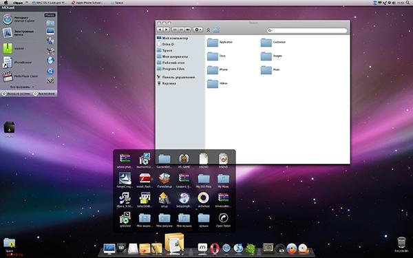 Run osx  windows on a mac