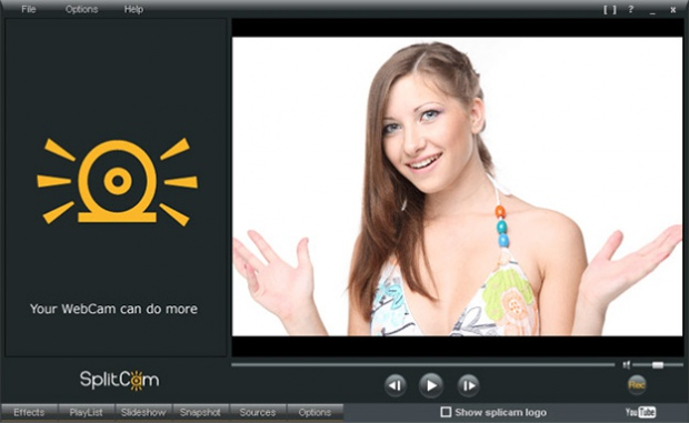 Программа для веб камеры splitcam