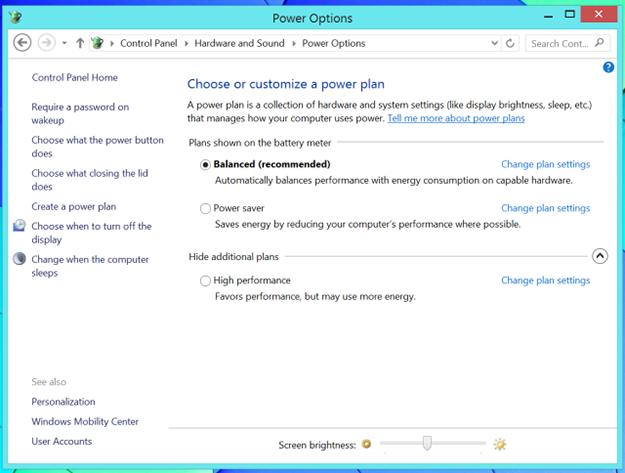 По умолчанию в Windows 8 и 8.1