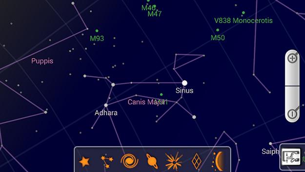 карта звездного неба для андроид