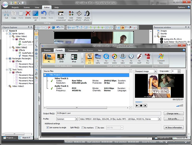 Улучшение качества любительского видео онлайн фото 330-148