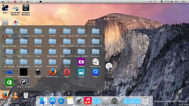Как сделать из windows mac os x