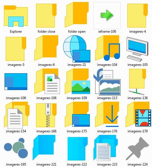 системные иконки windows: