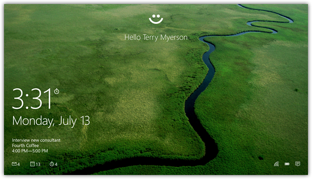 Windows Hello – вход в Windows без использования традиционных паролей