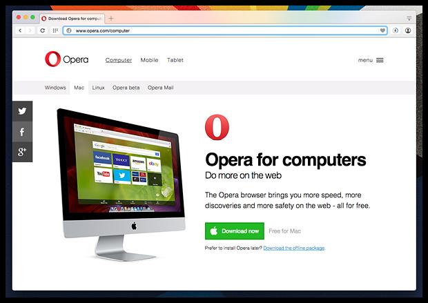 Opera 33 и Opera 34: что нового?