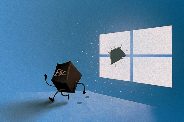 ����� ������ Windows 10 � ����� �����