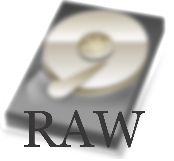 Restore files raw partition