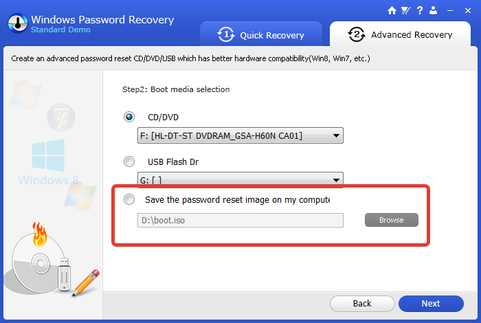 Как сделать рекавери диск на windows 10