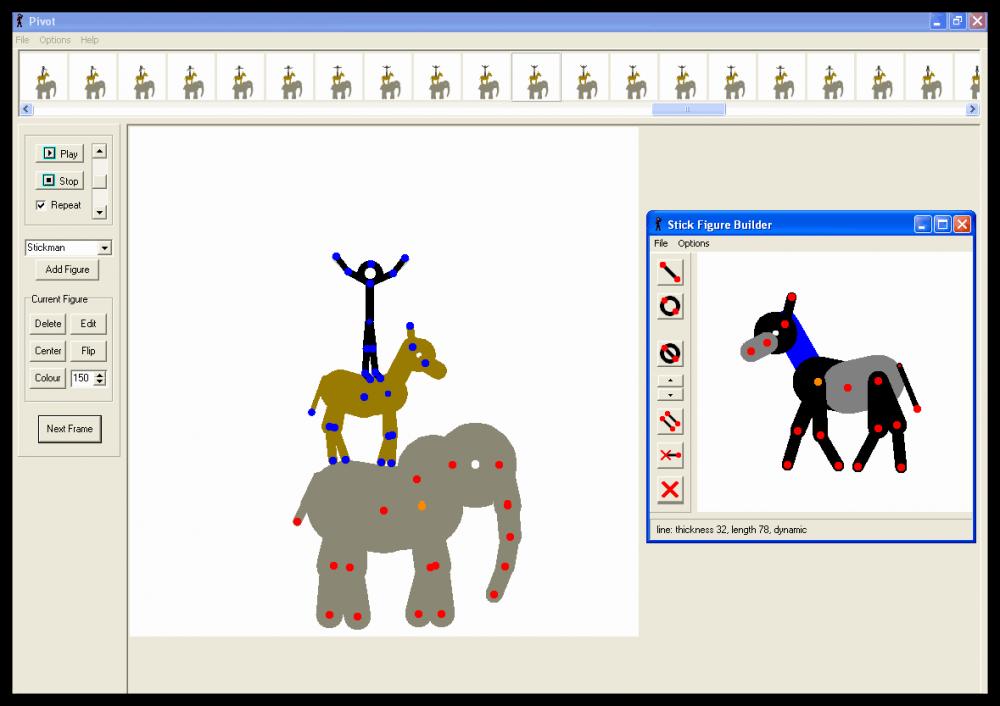 Программу для создания мультика аниматор