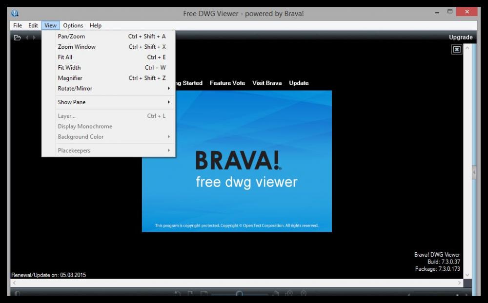 Скачать программу для просмотра dwg файлов бесплатно