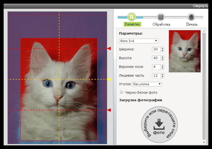 фото на документы обработка онлайн
