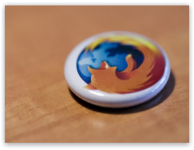 Как убрать, переместить или сделать меньше оранжевую кнопку Firefox