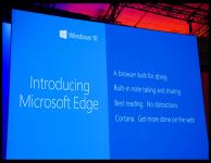 Microsoft Edge – новое название для Project Spartan