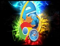 Популярность браузеров за октябрь 2015
