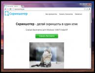 Скриншотер – удобный и минималистичный инструмент для создания скриншотов