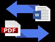 Преобразовываем PDF из DOC