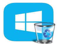 Как удалить программы на Windows 8