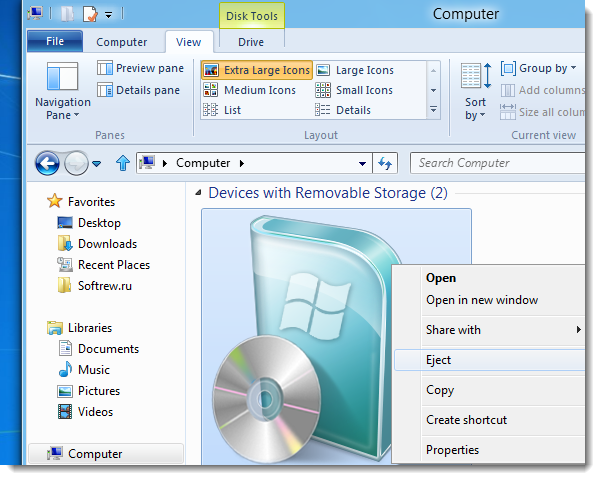 Обзор Windows 8. Первый взгляд на новую систему. Часть 3