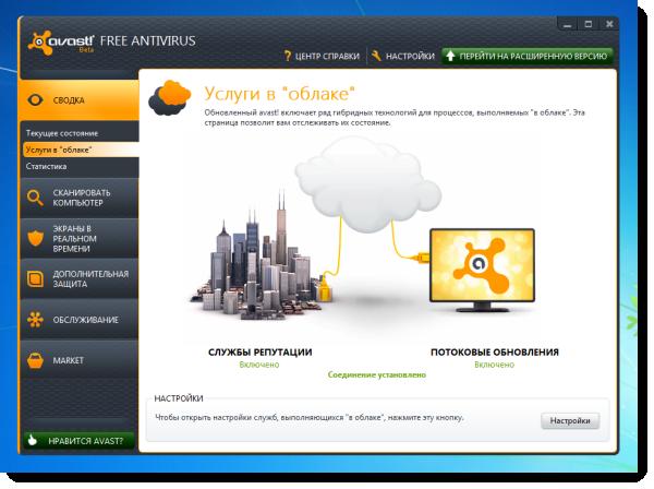Представлена первая тестовая версия avast! 7.0