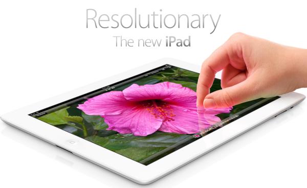 Apple представила третье поколение планшетных компьютеров iPad