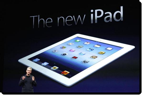 Начались официальные продажи iPad третьего поколения в России