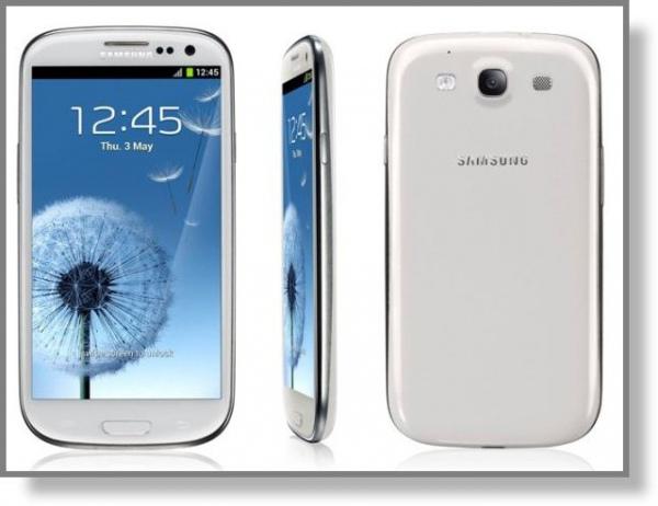 Смартфон Galaxy S III от компании Samsung