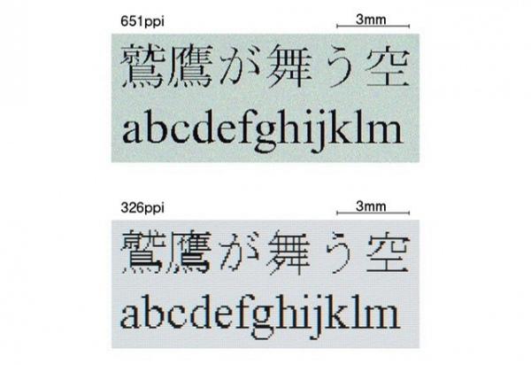 Japan Display представила публике дисплей с «огромной» плотностью пикселей