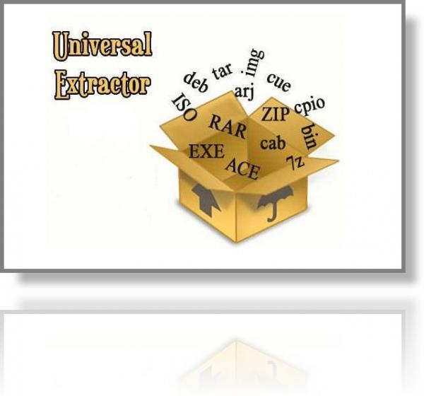 Обзор утилиты Universal Extractor. Универсальный распаковщик архивов