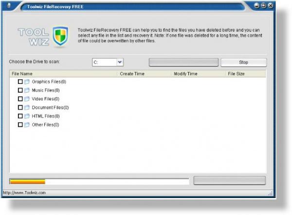 Краткий обзор утилиты Toolwiz File Recovery, восстановления удаленных файлов