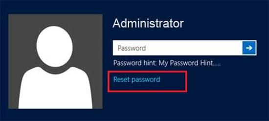 дискеты сброса пароля