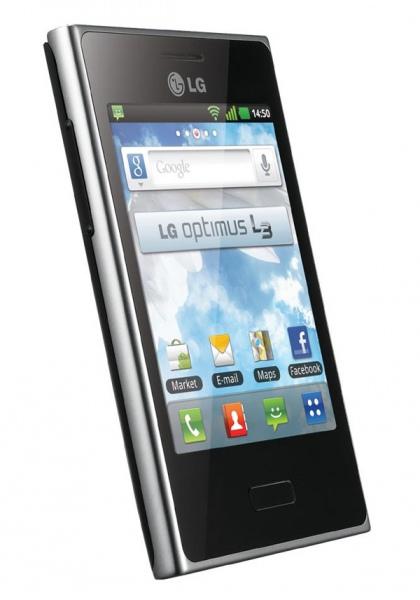 LG E400 Optimus L3 обзор