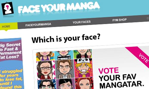 Создание аватарок онлайн. Обзор конструктора FaceYourManga