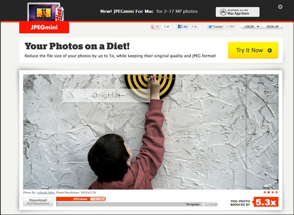 Cжатие изображений онлайн