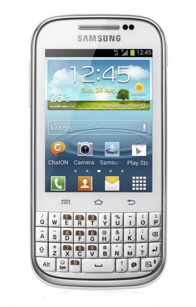 Общий обзор смартфона Samsung Galaxy Chat