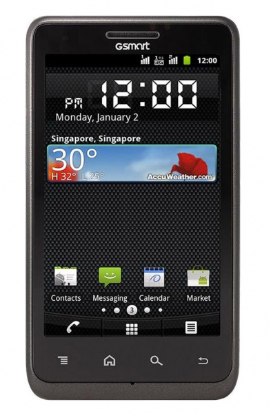 Смартфон Gigabyte GSmart Flounder G1355 обзор