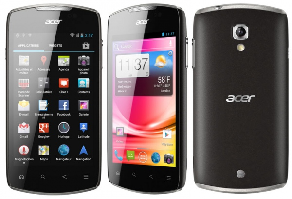 Смартфон Acer CloudMobile S500