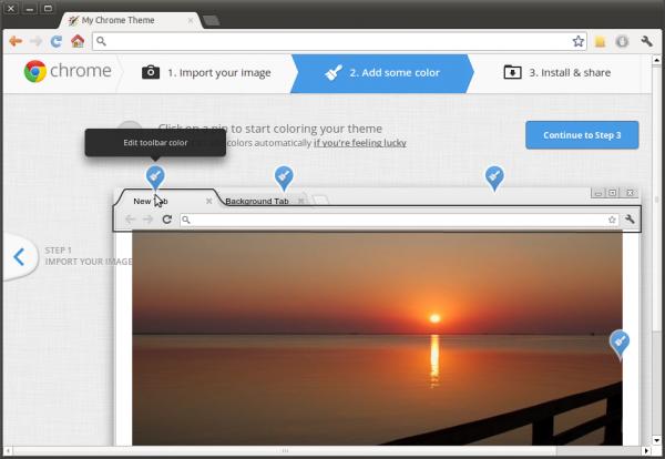 Как создать тему для Google Chrome